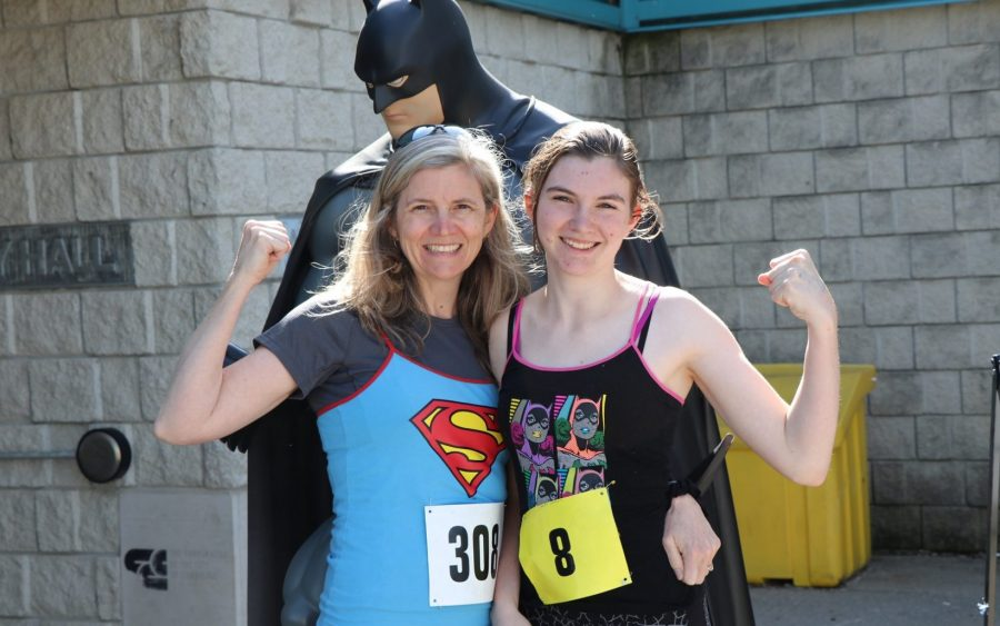 Batman at the Superhero Run